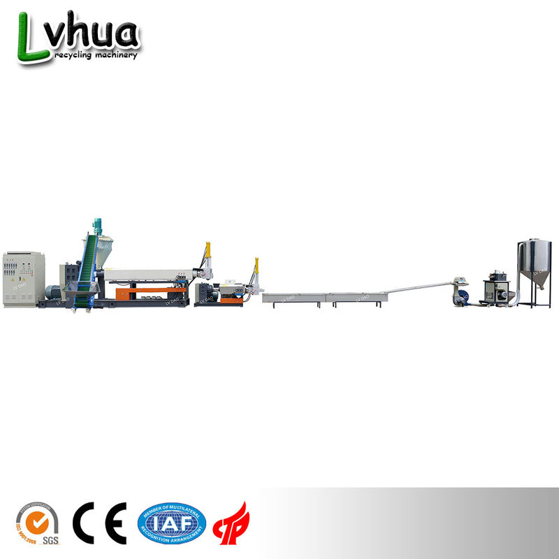 Single Screw Plastic Recycling Equipment ABS PE PP LDD 73R/Min Max Output