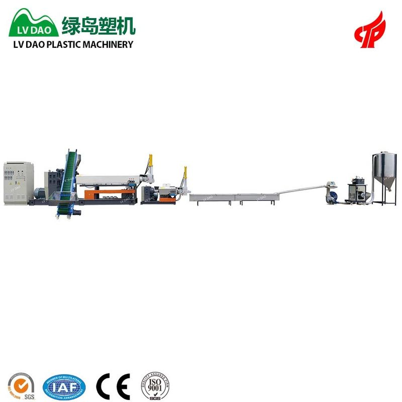 Long Service Time Water Bottle Recycling Machine 450 - 500kg/H Capacity